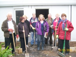 Gardening group ready for action