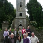 Protestant Church Restoration Project Group with Proposed Model of New Building