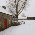 Forge House in Snow