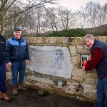 John Lenihan, John Lyons, Paddy Carrol prepare for 1st Anniversary of Glenwood Memorial