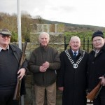 Kevin McCormack, Paddy Clancy, PJ Ryan, Joe McCormack at Glenwood