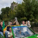 Winner David Walsh with Clare Shout Trophy 09