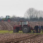 Paddy Carroll et al at Clare Ploughing Championship 25Mar12