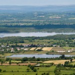 Clonlea Kilkishen and Cullane Lake from Twelve O'Clock Hills