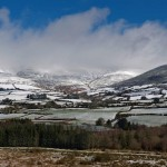 Slieve Bearnagh in snow