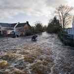 OGarney River in Spate Sixmilebridge