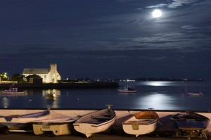 Dungarvan Harbour in Moonlight