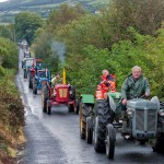 1720 Kilkishen Clare Shout Festival 2012 Tractor run at Cappalaheen