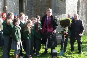 The official turning of the sod