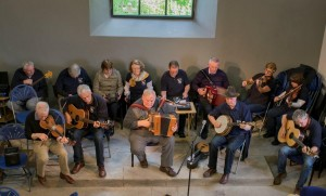 SMB Folk Group play at the Viewing Day of the Cultural Centre