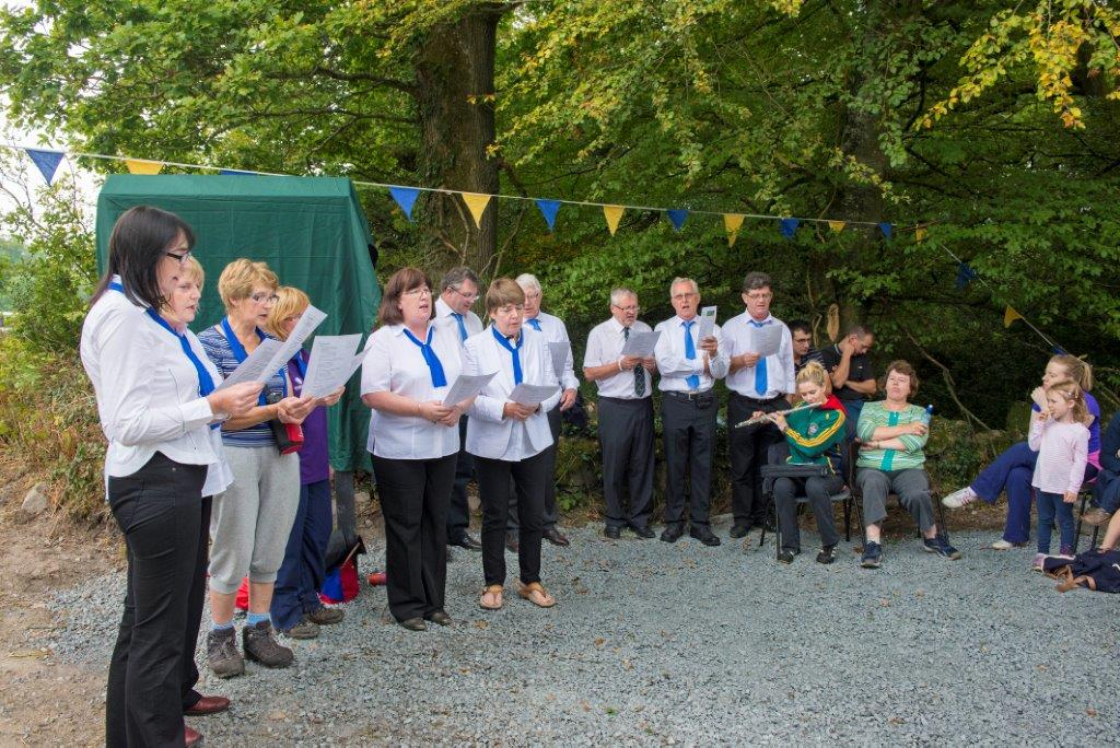 0573 12 O'Clock Opening Day, Kilkishen Choir