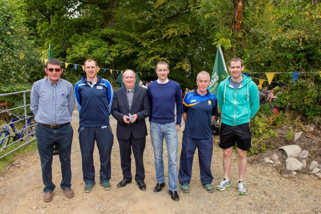 0577 12 O'Clocks Opening Day, John Lenihan, Conor Cooney, Father, Sean Hehir, Patsy Neville, Patrick Donnellan
