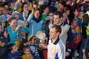 McCarthy Cup 2013 arrives at Kilkishen with Patrick Donnellan & Conor Cooney