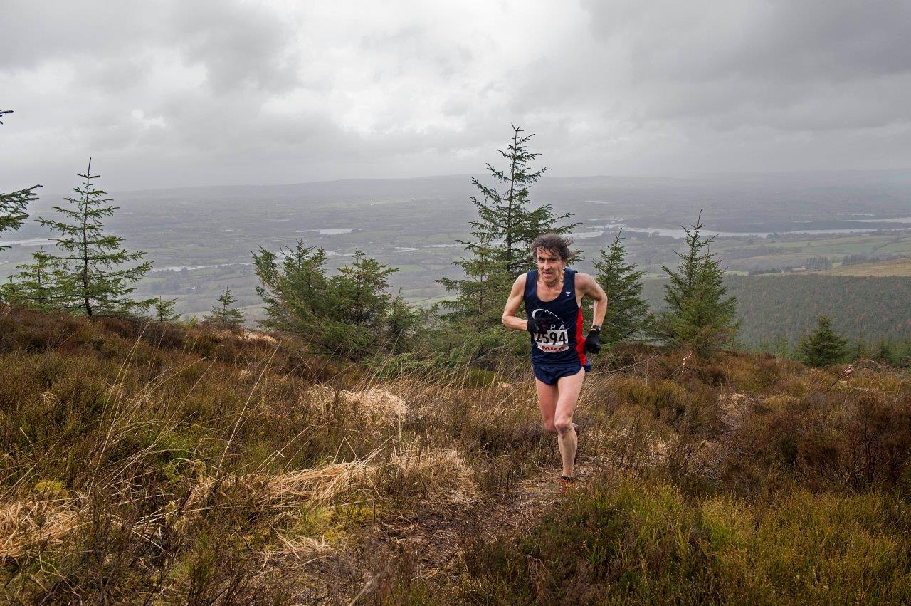 Mike Cunningham Cappamore, Co Limerick in 2nd place position, 5k Mountain Challenge 2014 in a time of 26mins 26secs. Photographs courtesy of John Power