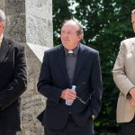 Mike Hogan, Fr Donal O'Dwyer & Bishop Kenneth Kearon