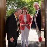 Mike Hogan welcomes Dóirín Graham & James Breen to the newly opened centre
