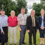 Jackie McHugh, JP Guinnane, Pat O'Brien, Mike Hogan & members of LCETB