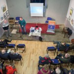 2029 Patsy Neville and Tomás MacConmara, 1916_2016 talk in Cultural Centre