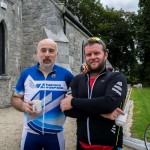 Shane O'Neill & Brian Kavanagh enjoying a cuppa after the cycle